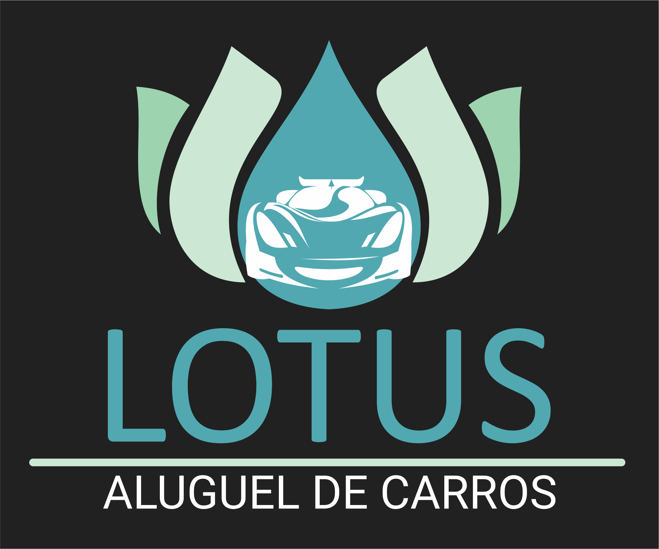 Logomarca Lotus Rent a Car