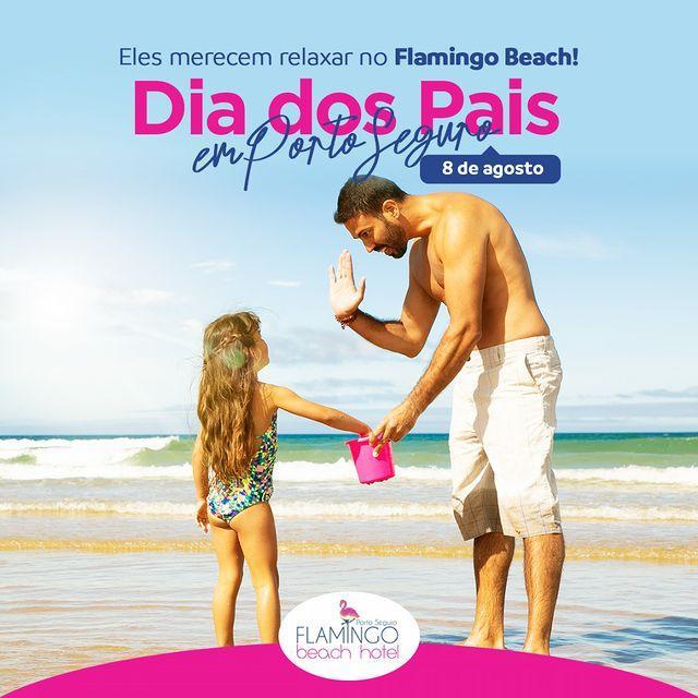Agosto dos pais Flamingo Beach Hotel