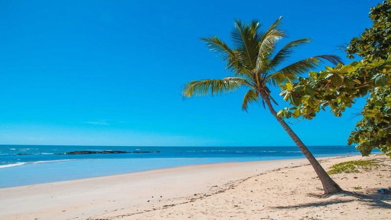 As praias mais proximas do Centro de Porto Seguro